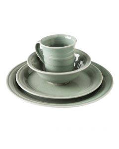Belmont Dinnerware — Crackle Celadon