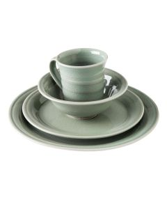 Belmont Cereal Bowl Place Setting — Crackle Celadon