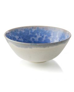 Crystalline Bowl, Large — Cobalt