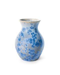 Curio Crystalline Vase, Medium — Cobalt