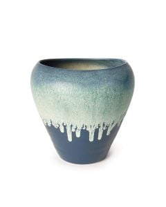 Strafford Pottery Vase - Midnight Blue