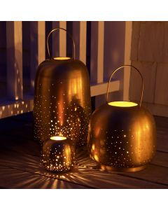 Brass Constellation Lantern