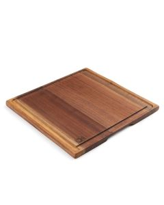 ANDREW PEARCE BLACK WALNUT WOOD CARVING BOARD, LARGE