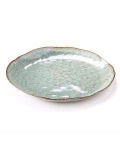 Burlington Moss Pinch Pot Dinner Plate