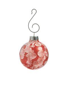 Crystalline Ornament in Gift Box - Garnet