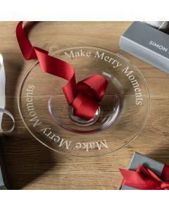 "Pre-Engraved ""Make Merry Moments"" Celebration Bowl, Medium"