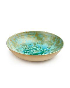 Crystalline Low Bowl, Large — Jade | 2nd