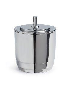 Manhattan Stainless Steel Ice Bucket + Tongs