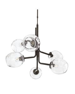 Caledonia Chandelier with 6 Globes