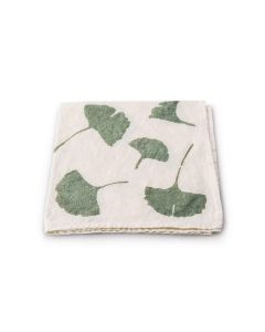 Ginkgo Leaf Linen Napkin — 18ʺ