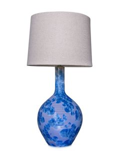 Warren Pottery Lamp, Small - Crystalline Cobalt