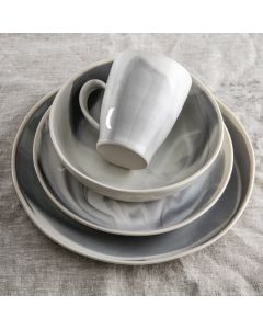 Marble Pasta Bowl Place Setting — Stratus