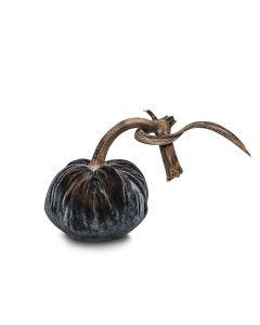 Graphite Velvet Pumpkin