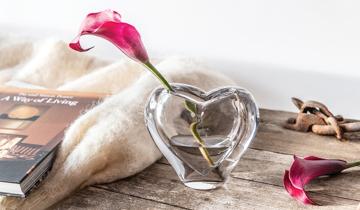 Romance Vase with flower
