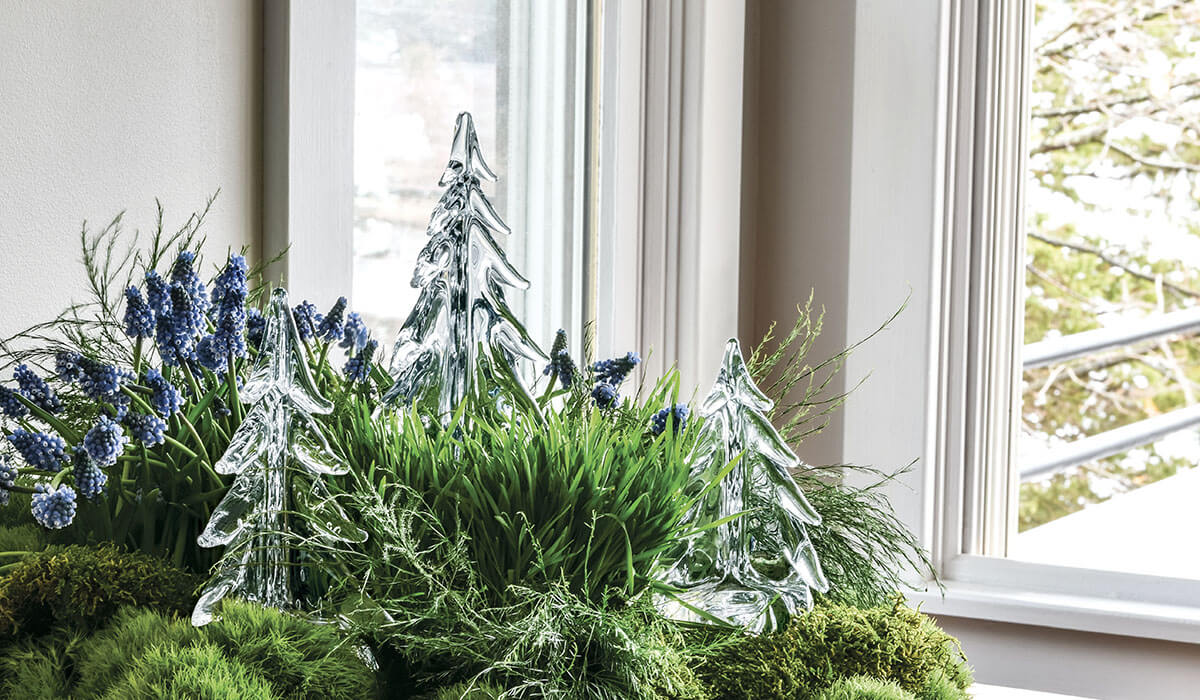 Glass Trees for Spring
