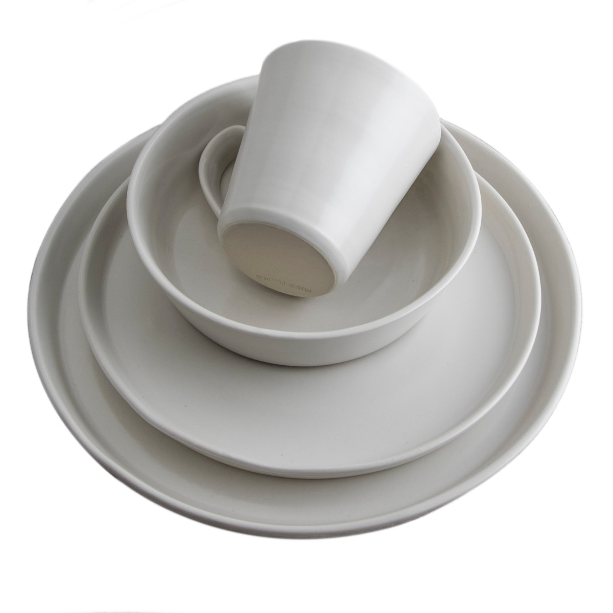WESTPORT ALABASTER DINNERWARE
