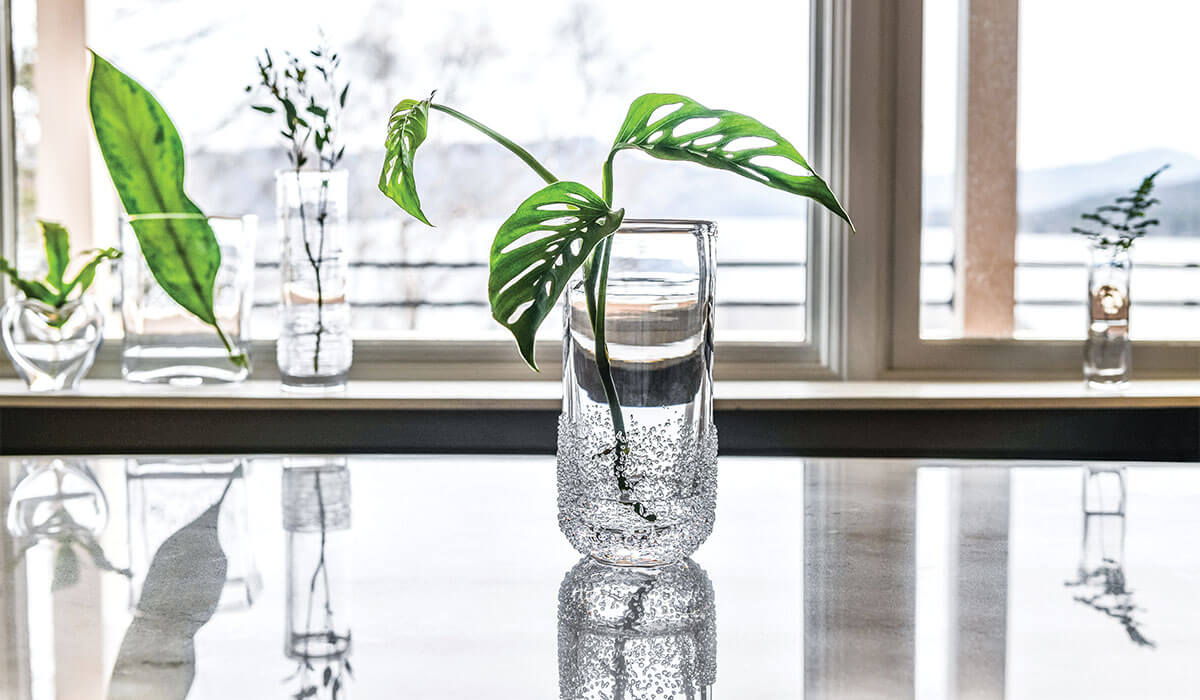 Sterling Pond Tall Vase