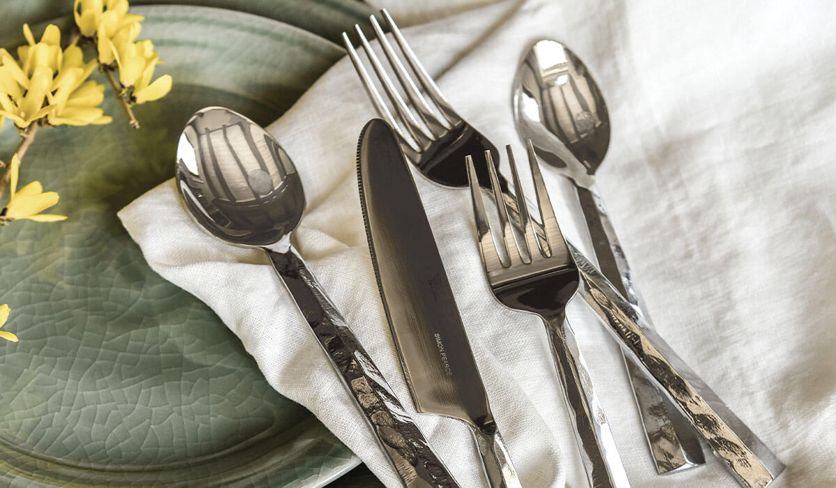 Charlotte 5-Piece Flatware Setting (Gift Boxed)
