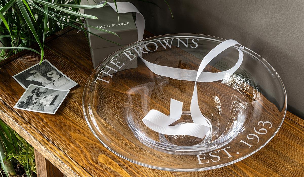 Personalized Celebration Bowl