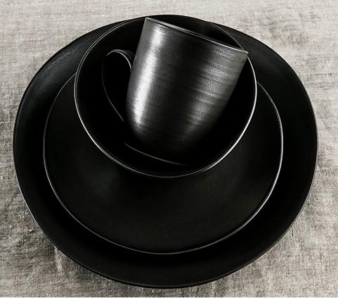 BARRE SLATE DINNERWARE