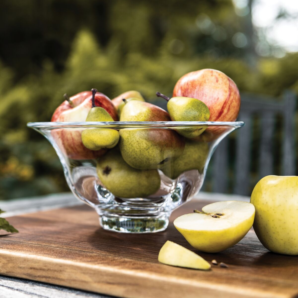 Apples with Shelburne bowl
