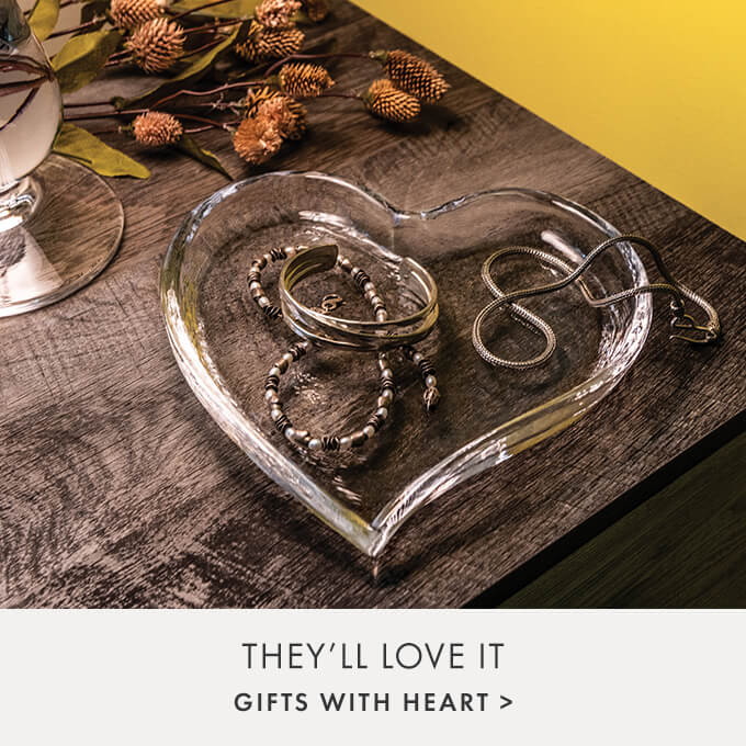 THEY'LL LOVE IT — GIFTS WITH HEART >