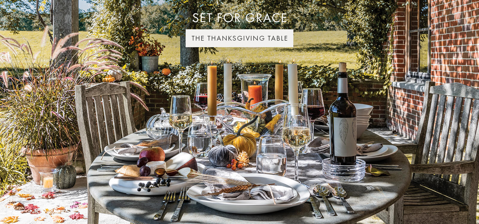 SET FOR GRACE — THE THANKSGIVING TABLE >