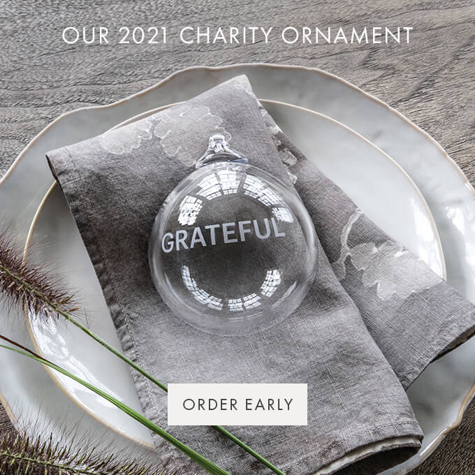 OUR 2021 CHARITY ORNAMENT — ORDER EARLY >