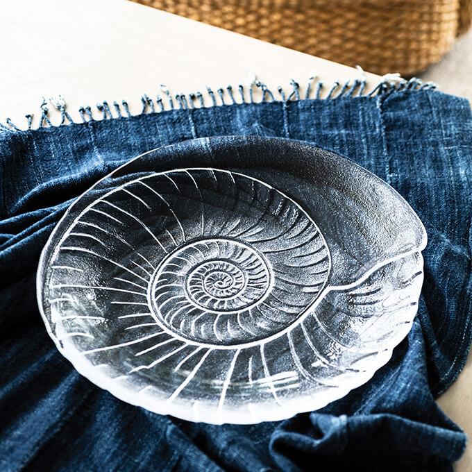 Simon Pearce Shell Platter