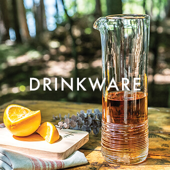 Echo Lake Carafe> Shop Simon Pearce Drinkware
