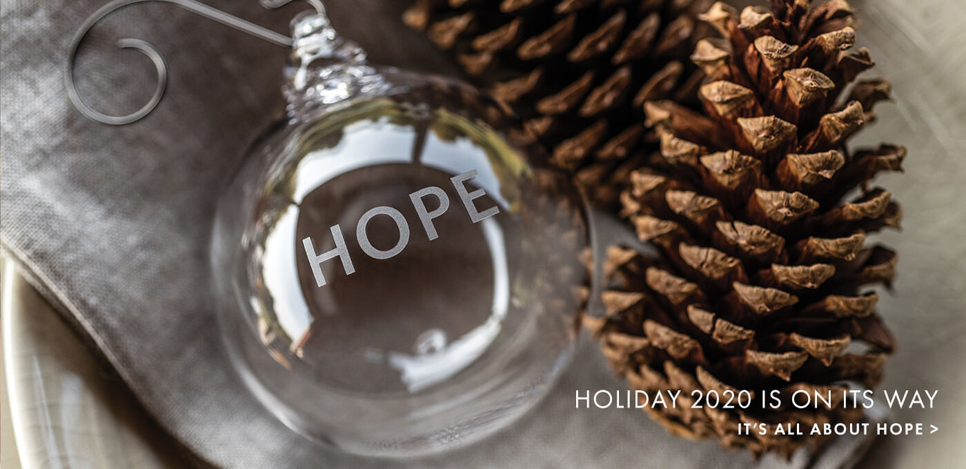 HOLIDAY 2020 IS ON ITS WAY - IT'S ALL ABOUT HOPE >