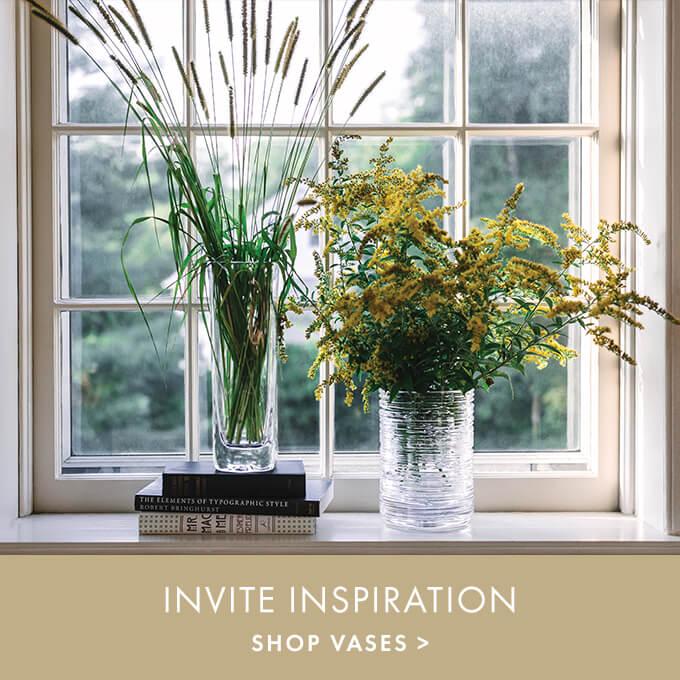 INVITE INSPIRATION > SHOP VASES