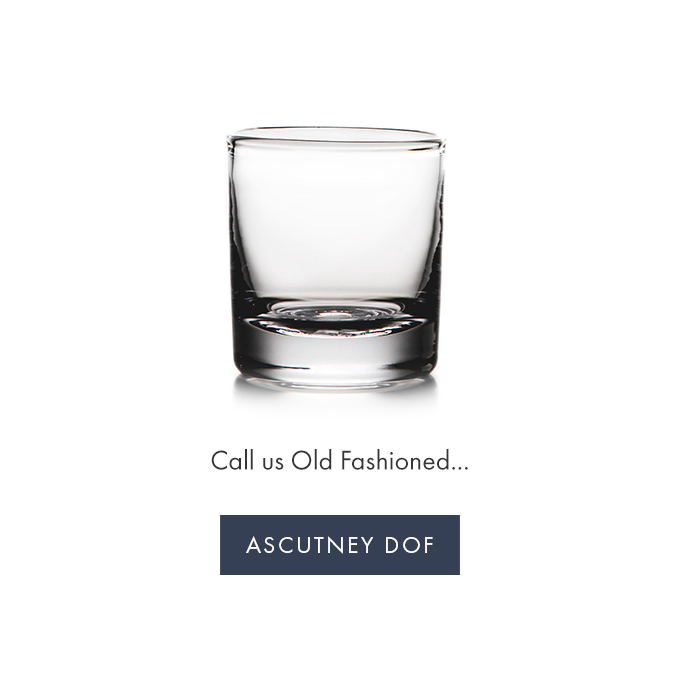 Call us Old Fashioned ... ASCUTNEY DOF >