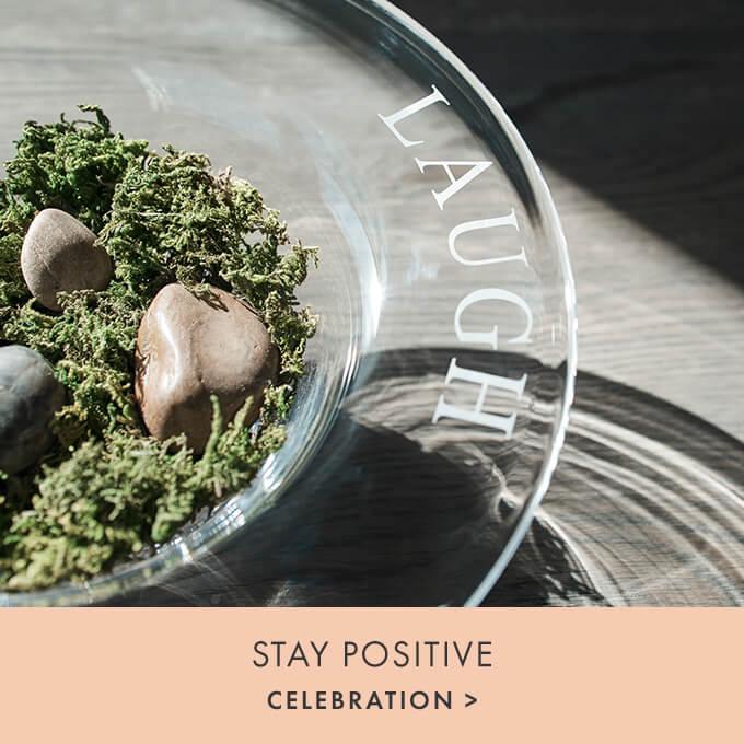 STAY POSITIVE — CELEBRATION >