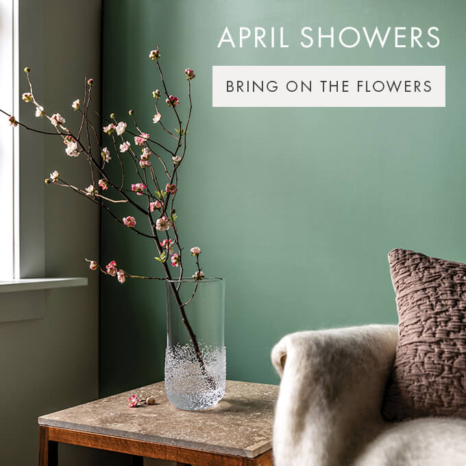 APRIL SHOWERS  —  BRING ON THE FLOWERs >