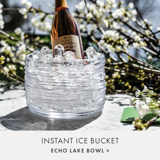 INSTANT ICE BUCKET — ECHO LAKE BOWL >