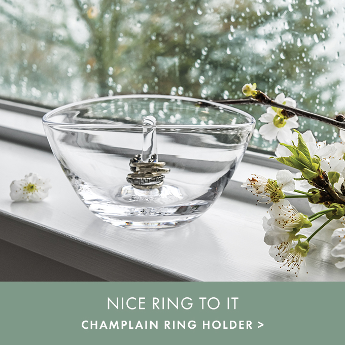 NICE RING TO IT — CHAMPLAIN RING HOLDER >