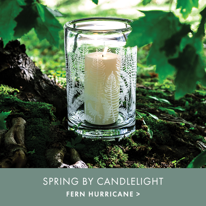 SPRING BY CANDLELIGHT — FERN HURRICANE >