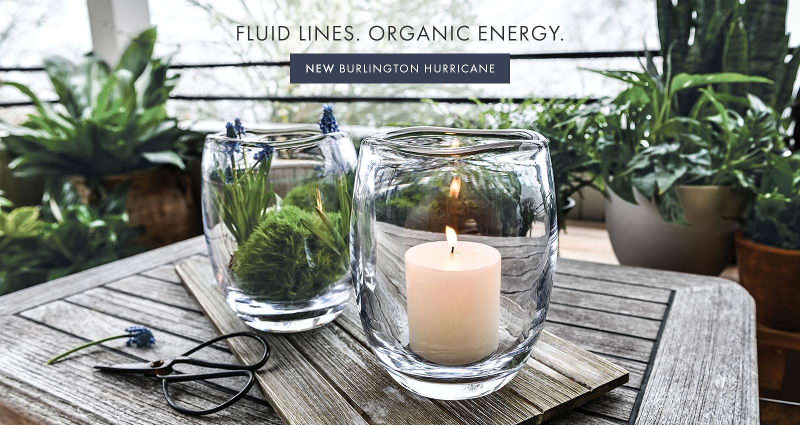 LUID LINES. ORGANIC ENERGY — NEW BURLINGTON HURRICANE >
