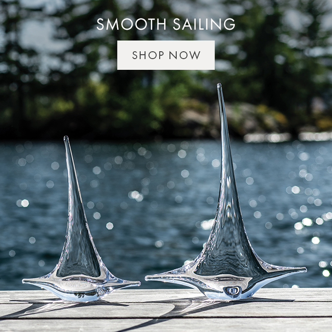 SMOOTH SAILING — SHOP NOW >