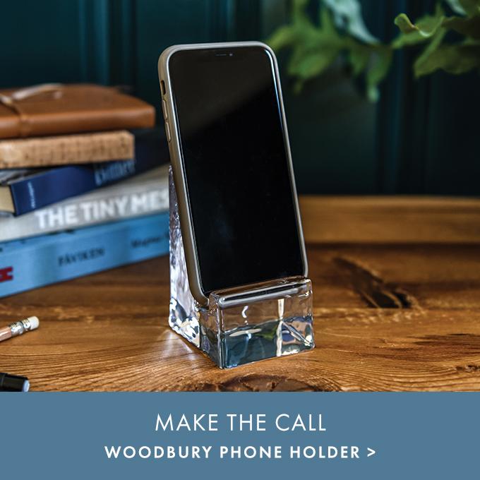 MAKE THE CALL — WOODBURY PHONE HOLDER >