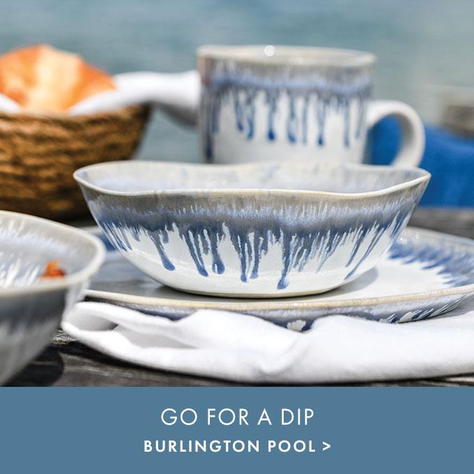GO FOR A DIP — BURLINGTON POOL >