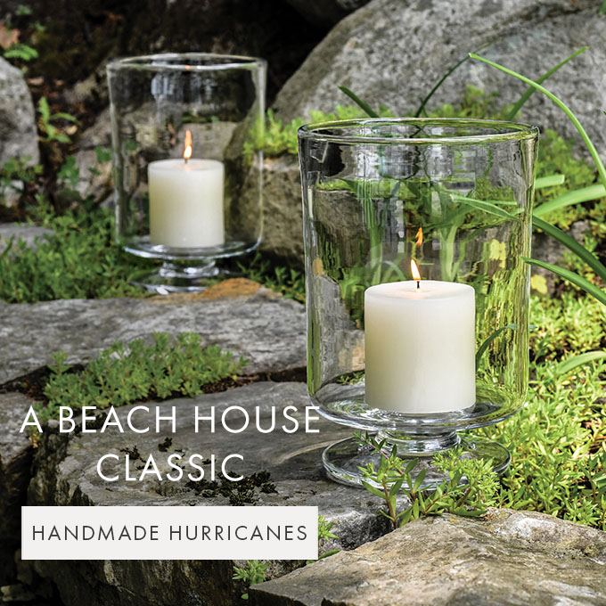 A BEACH HOUSE CLASSIC — HANDMADE HURRICANES >