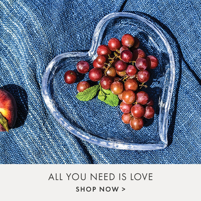 ALL YOU NEED IS LOVE  — SHOP NOW >