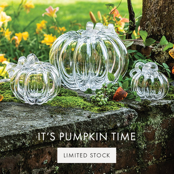 IT'S PUMPKIN TIME — LIMITED STOCK >
