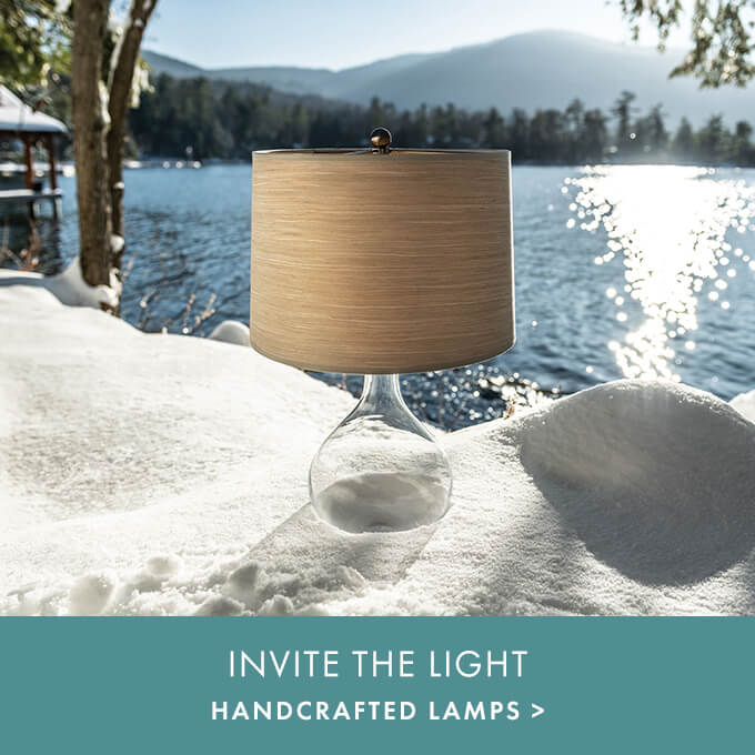 INVITE THE LIGHT — HANDCRAFTED LAMPS >