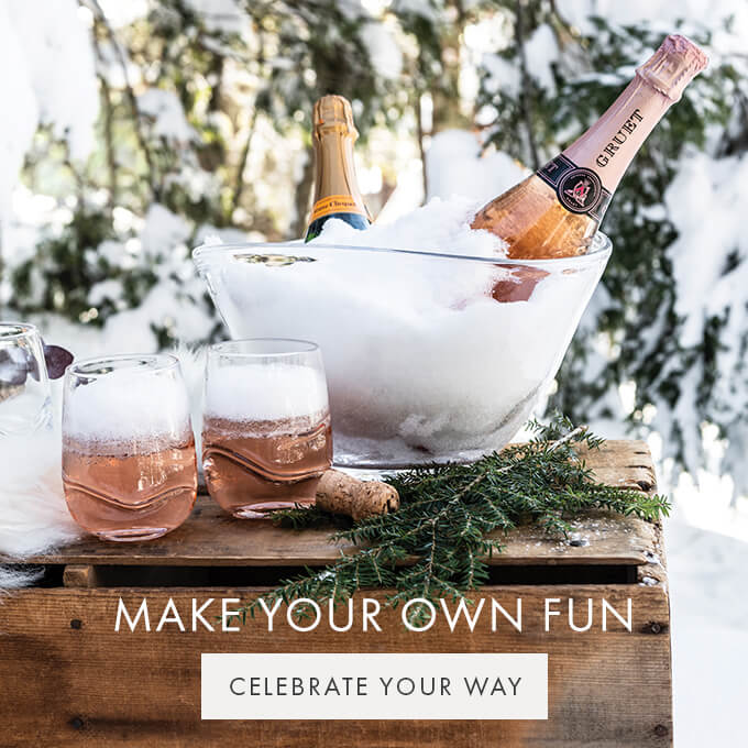 MAKE YOUR OWN FUN — CELEBRATE YOUR WAY >