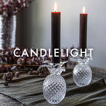 Pineapple Candlestick — SHOP CANDLELIGHT >
