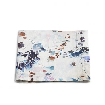 Watercolor Floral Linens