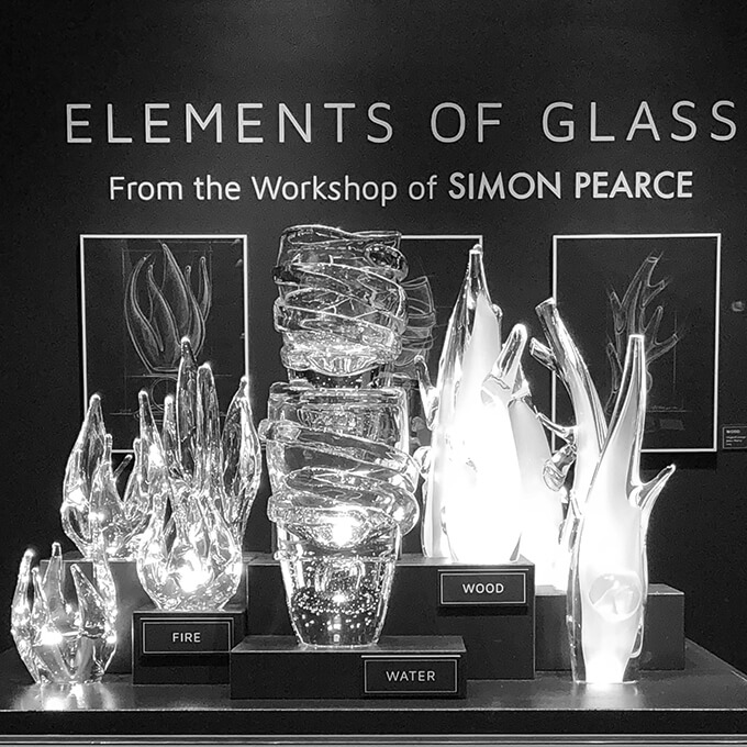 ELEMENTS OF GLASS — From the Workshop of SIMON PEARCE — ELEMENT SCULPTURES